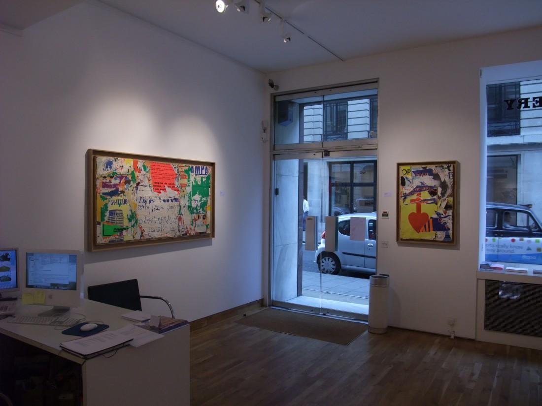 <p>MIMMO ROTELLA & JACQUES VILLEGLÉ Installation View</p>