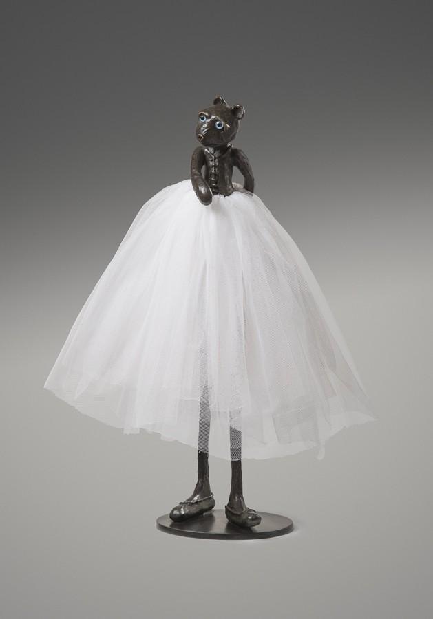 "<p><span class=""artist""><strong>PATRICK O'REILLY</strong></span></p><div class=""title""><em>Ballerina bear</em>, 2014</div><div class=""medium"">Bronze sculpture</div><div class=""dimensions"">72 x 56 x 50 cm<br />(28 3/8 x 22 x 19 3/4 in)</div><div class=""dimensions"">£8,000</div>"