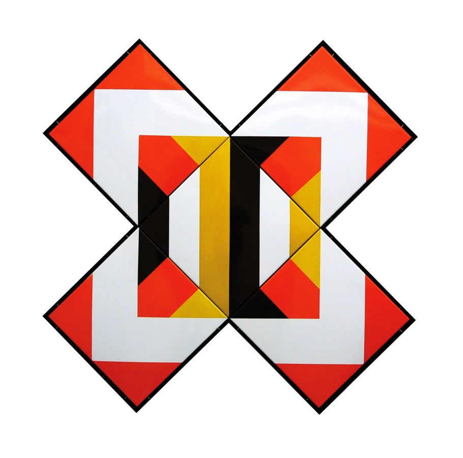 "<p><span class=""artist""><strong>SÁNDOR PINCZEHELYI</strong></span>, <span class=""title""><em>Imagination</em>, 1972</span></p><div class=""medium"">Enamel on metal plate</div><div class=""dimensions"">131 x 131 cm<br />51 ½ x 51 ½ inches</div>"