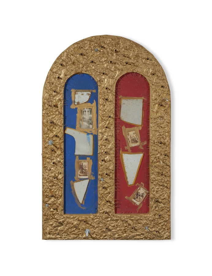 "<span class=""artist""><strong>STANO FILKO</strong></span>, <span class=""title""><em>Altar to Contemporaneity</em>, 1967</span>"