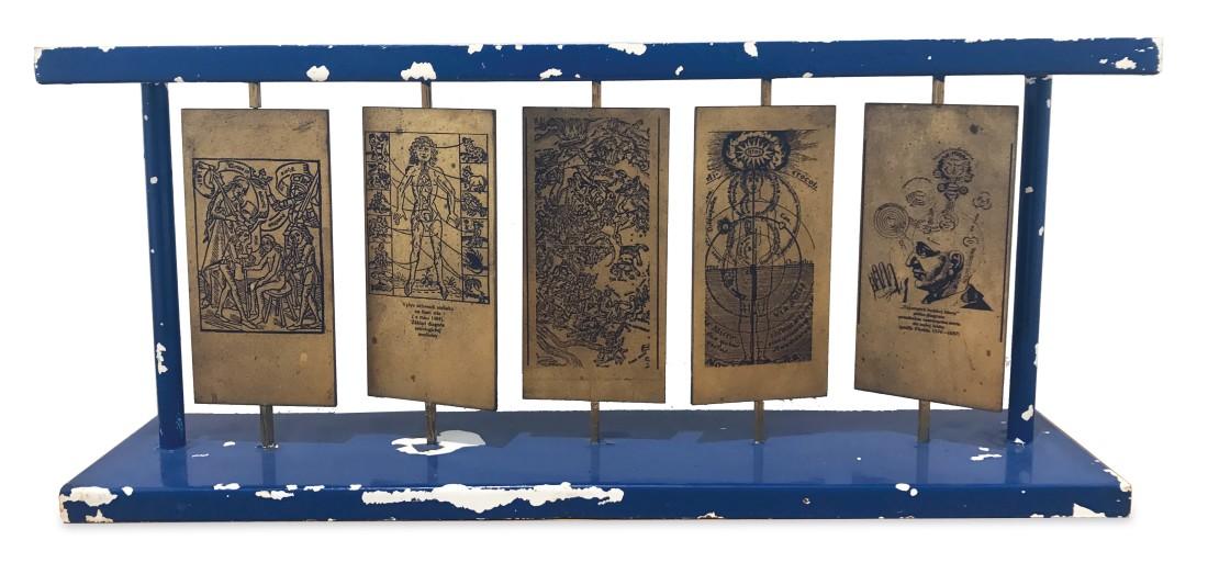"""<span class=""""artist""""><strong>STANO FILKO</strong></span>, <span class=""""title""""><em>Model of a Sculpture</em>, 1976-1977</span>"""