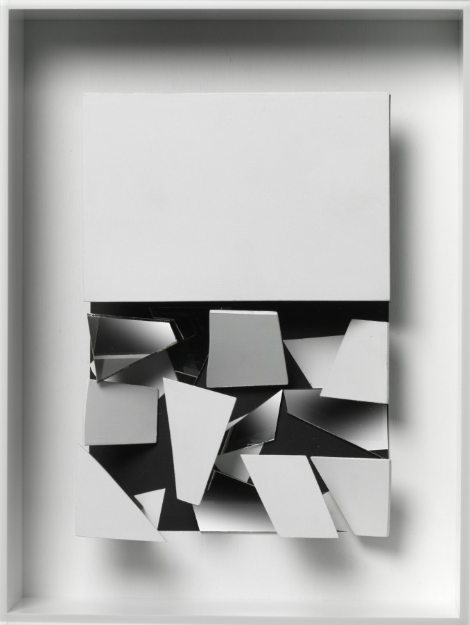 "<p><span class=""artist""><strong>CHRISTIAN MEGERT</strong></span>, <span class=""title""><em>Untitled (ID07)</em>, 2016</span></p><div class=""medium"">Wood, mirror, acrylic and Plexiglas</div><div class=""dimensions"">42.5 x 31.5 x 12 cm<br />16 ¾ x 12 ⅜ x 4 ¾ in</div>"