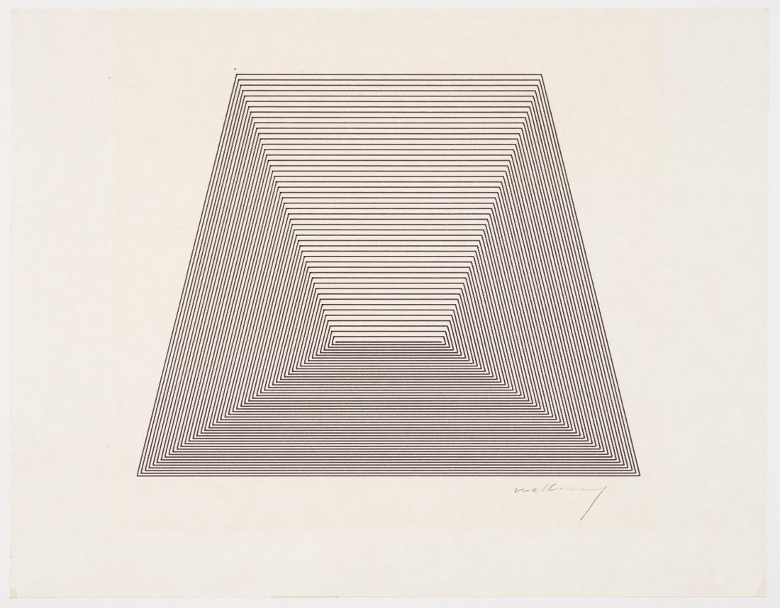"""<span class=""""artist""""><strong>ROBERT MALLARY</strong></span>, <span class=""""title""""><em>Incremental series</em>, 1970</span>"""