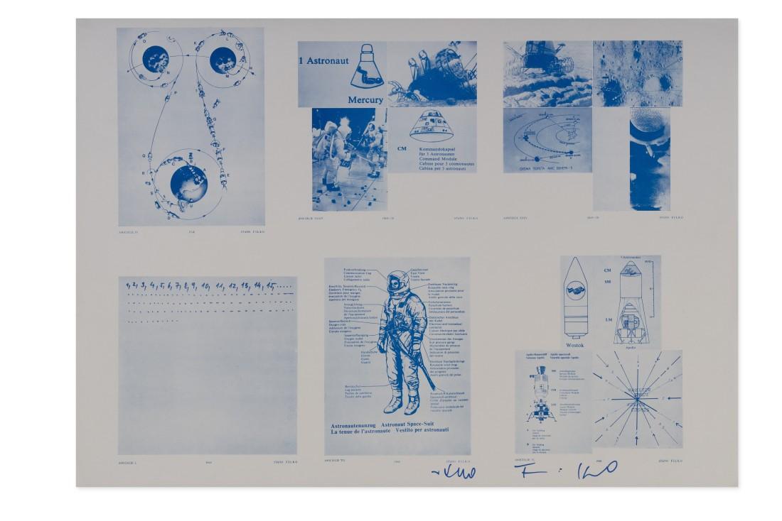 "<span class=""artist""><strong>STANO FILKO</strong></span>, <span class=""title""><em>Associations I, IV, VI, VII, XXXIV, XXXV</em>, 1968-1969</span>"