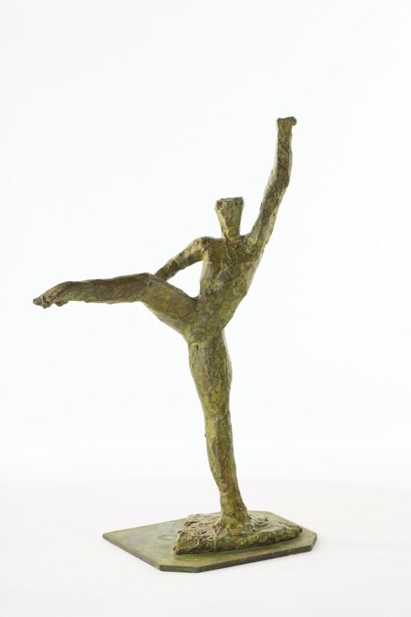 "<p><strong><span class=""artist"">IVOR ABRAHAMS</span></strong>,<span class=""title""><em>Dancer</em>, 1987</span></p><div class=""medium"">Bronze, ed. 1/1</div><div class=""dimensions"">46.5 x 30 x 17 cm<br />18 1/4 x 11 x 3/4 x 6 3/4 inches</div><div class=""dimensions""></div><div class=""dimensions"">£5,000.00</div>"
