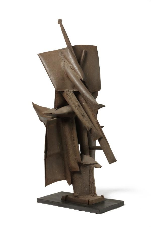 """<span class=""""artist""""><strong>SHINKICHI TAJIRI</strong></span>, <span class=""""title""""><em>Sentinel</em>, 1954</span>"""