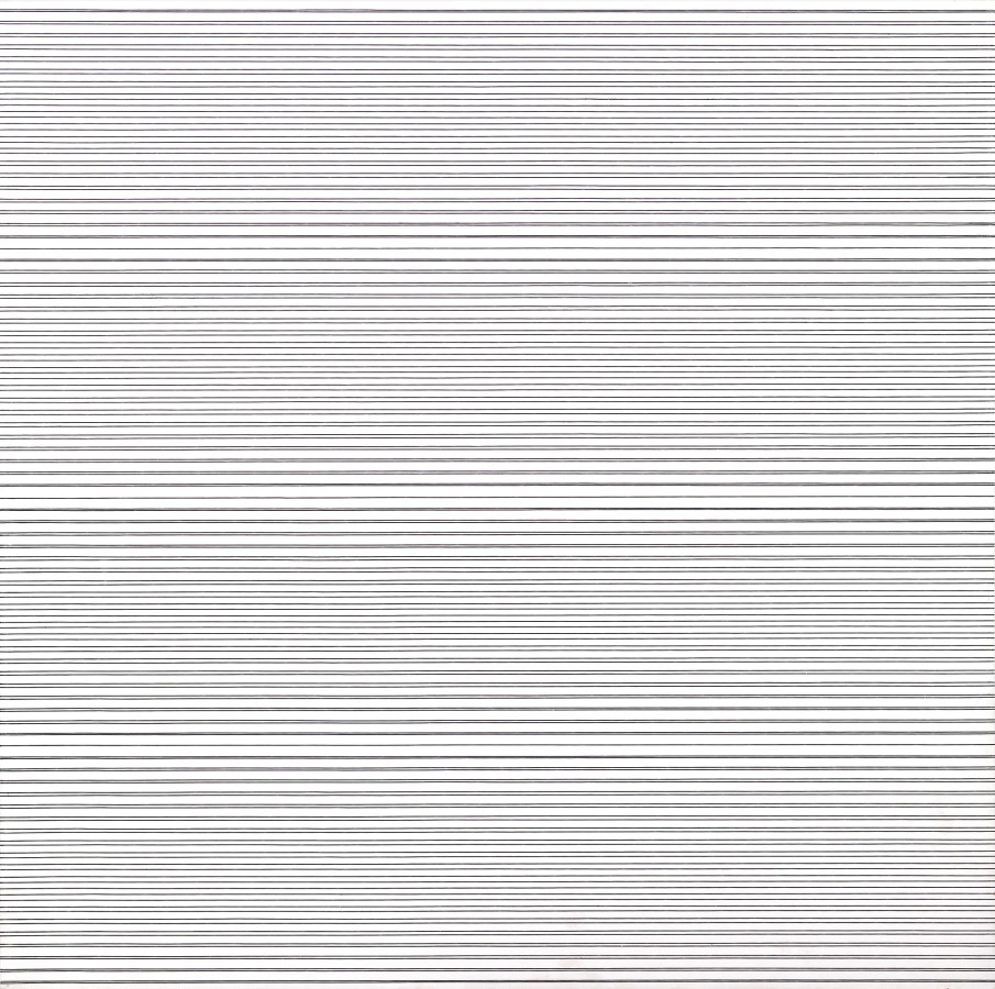 "<p><span class=""artist""><strong>FRANCOIS MORELLET</strong></span>, <span class=""title""><em>2 trames inégales avec 5 interférences</em>, 1974</span></p><div class=""medium"">Oil on board</div><div class=""dimensions"">80 x 80 cm<br />(31 ½ x 31 ½ inches)</div>"