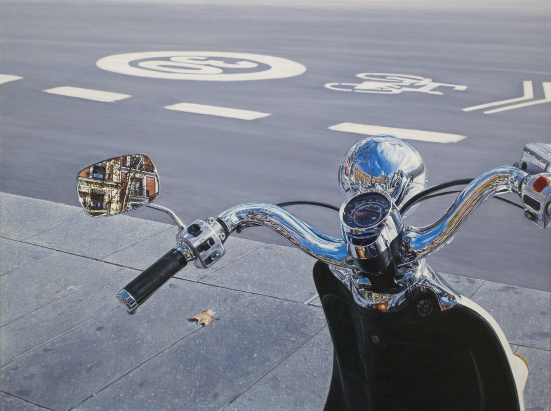 Carlos Pulido 30 Oil on linen on board 60 x 80 cm
