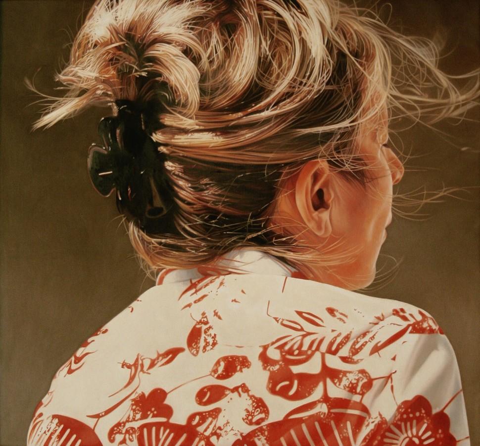 Jacques Bodin De dos XXXXII oil on canvas 100 x 110 cm
