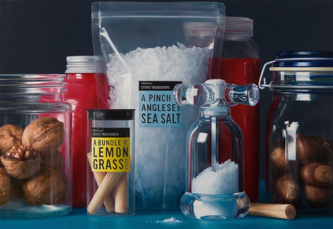 Antonio Castelló The Salt of Life oil on linen 100 x 146 cm
