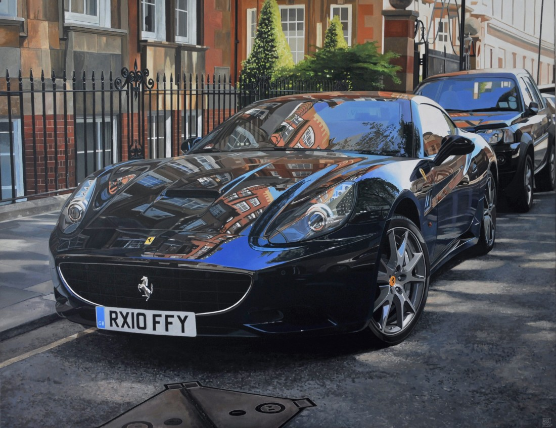 <p>&#34;Moscow Road/Ferrari California&#34;</p><p>Acrylic on Canvas&#160;</p><p>114 x 146 cm&#160;</p>