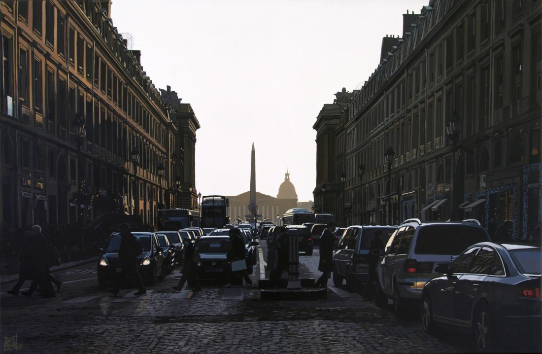 <p>&#34;La Concorde, Rush Hour&#34;</p><p>Acrylic on canvas</p><p>30 x 46 cm</p>