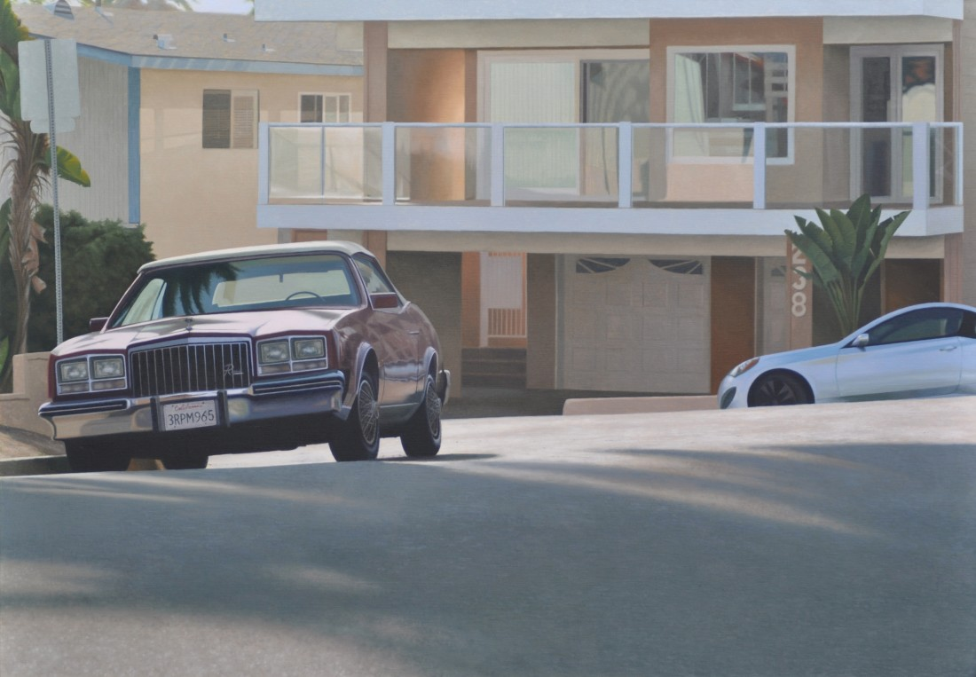 Mike Briscoe California Suburb Late Afternoon