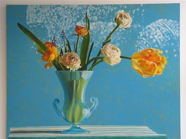 Ben Schonzeit Frosted Blue 112 x 140 cm
