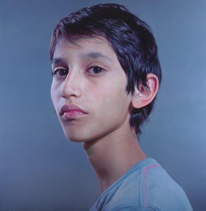 LC(fulcrum) oil on canvas 234.5 x 230 cm
