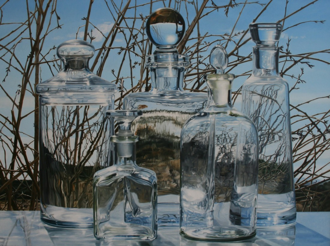 Steve Smulka Morning Frost oil on linen 86 x 117 cm