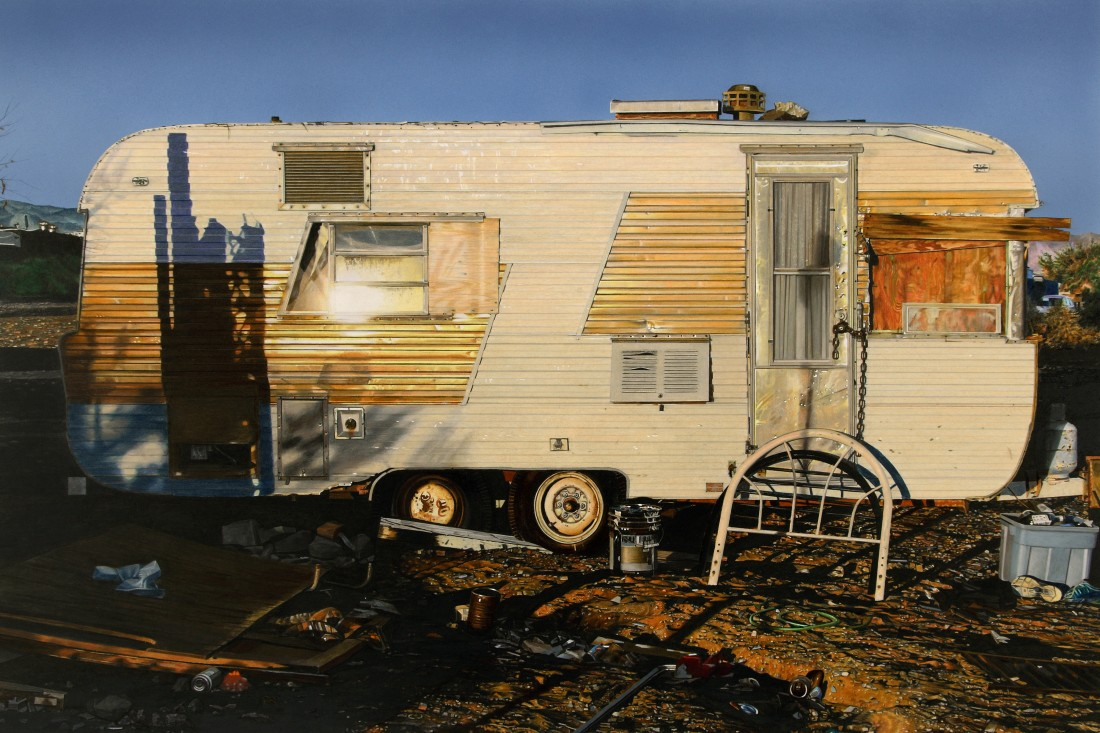 Slab City - Victory pencil on paper 53 x 79 cm