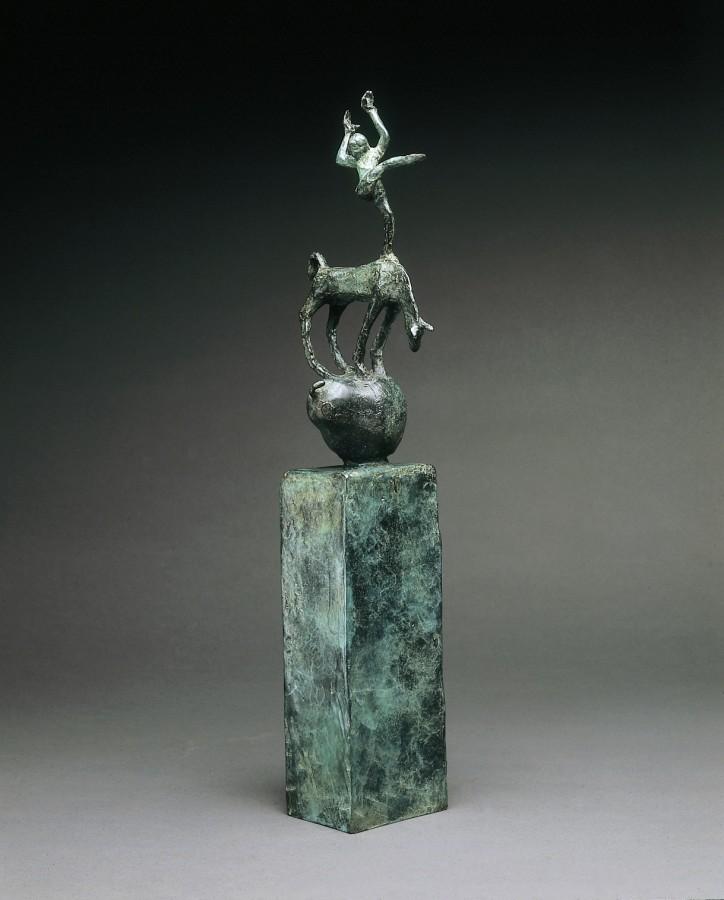 Celebration #3 Bronze Edition of 12 56 x 9 x 14 cm