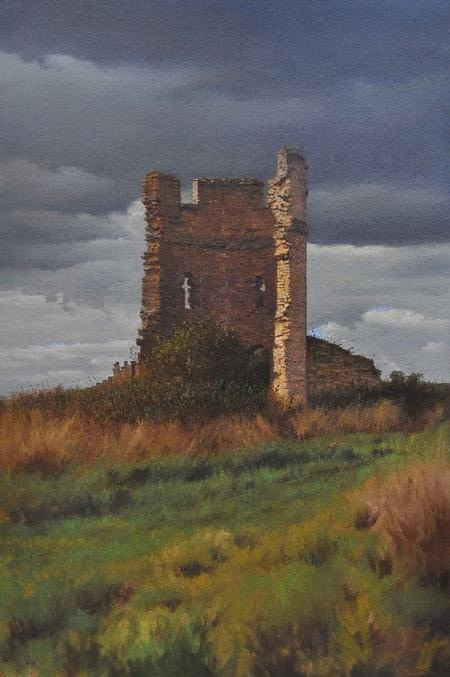 The Last Bastion oil on canvas 107 x 71 cm