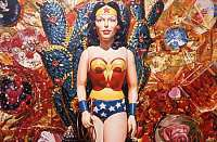 David Parrish Wonder Woman oil on canvas 170.2 x 255.3 cm