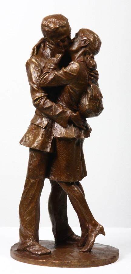 Kiss II Bronze 42 x 19 x 18 cm