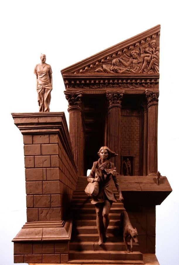 La Madeleine I Bronze 65 x 40 x 28 cm