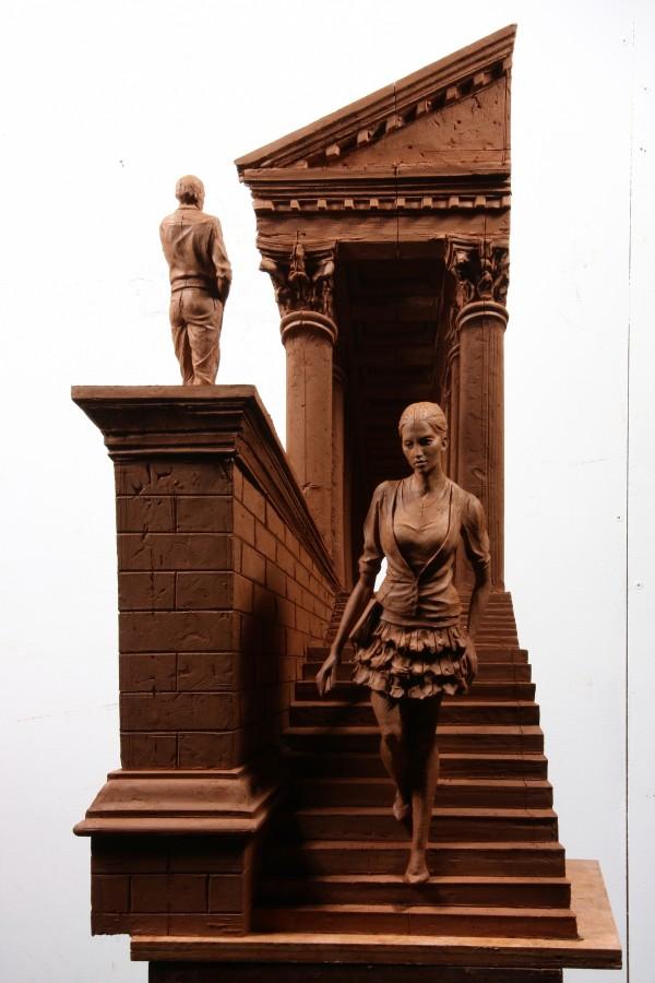 La Madeleine II Bronze 65 x 30 x 26 cm