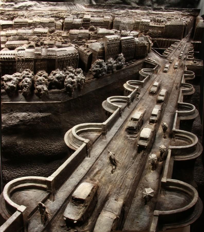 Le Pont Neuf Bronze 74 x 74 x 25 cm