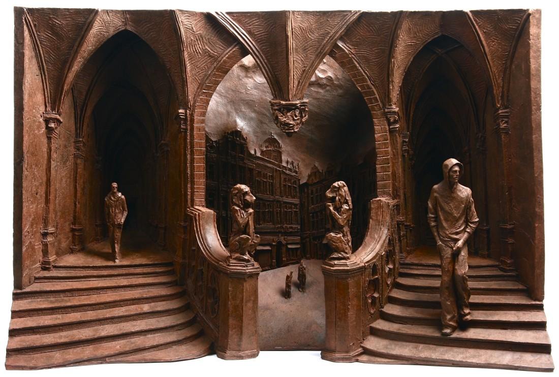 Pendant Bronze 24 x 38.5 x 13.5 cm