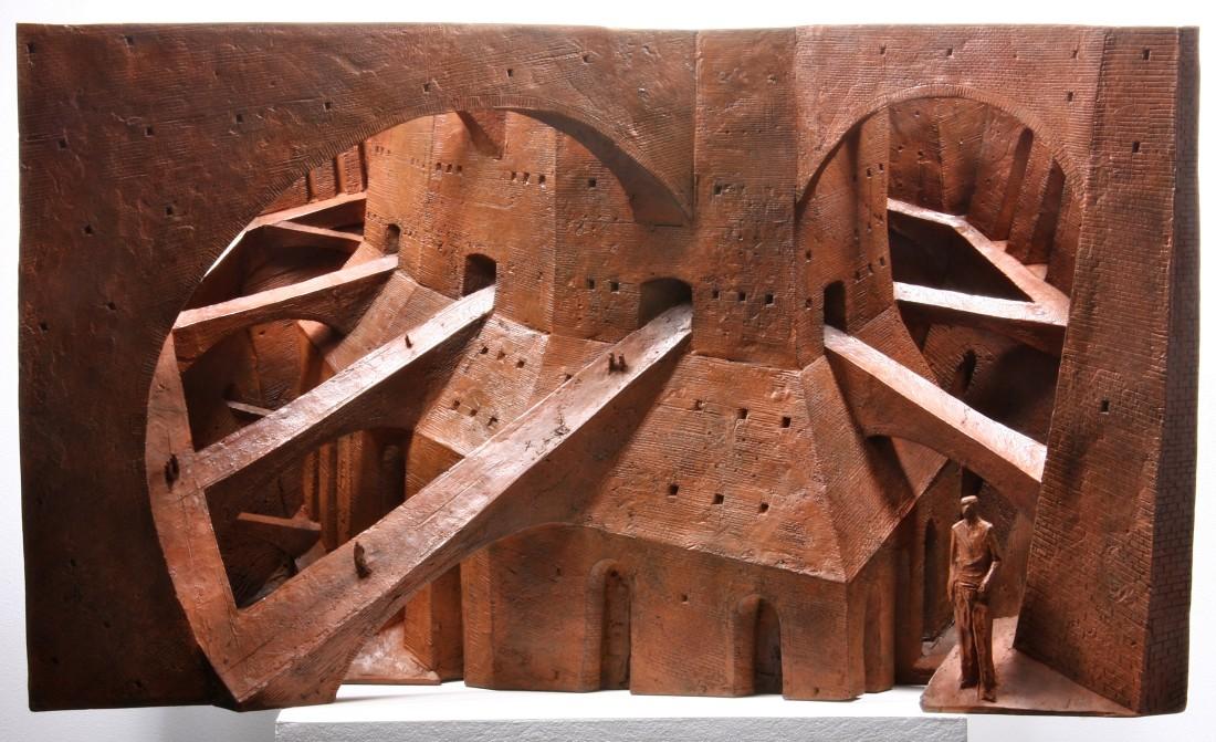 Strange Ways Bronze 44 x 73 x 26 cm