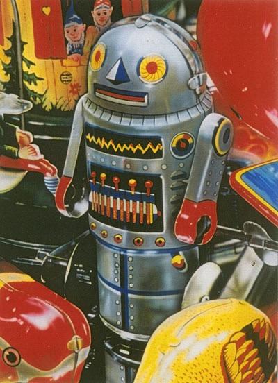 Cesar Santander The Silver Robot
