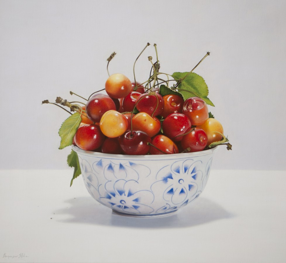 <p>Francesco Stile</p><p>&#34;Delicious&#34;</p><p>Oil on canvas</p><p>60 x 60 cm</p>