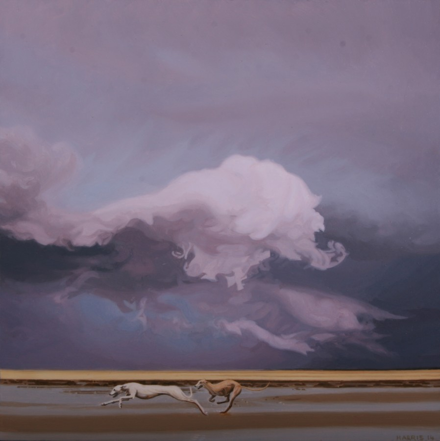 <p>Phillip Harris</p><p>&#34;Storm Dog 2&#34;</p><p>Oil on aluminum</p><p>20 x 20 cm</p>