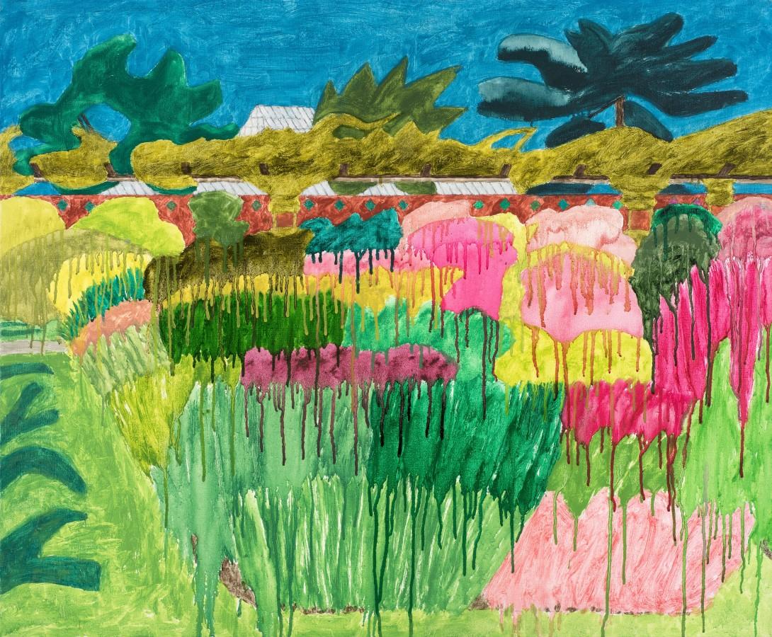 Adrian Berg RA (1929-2011) Kew, 21st August 1998, oil on canvas, 76.5 x 91.5cm