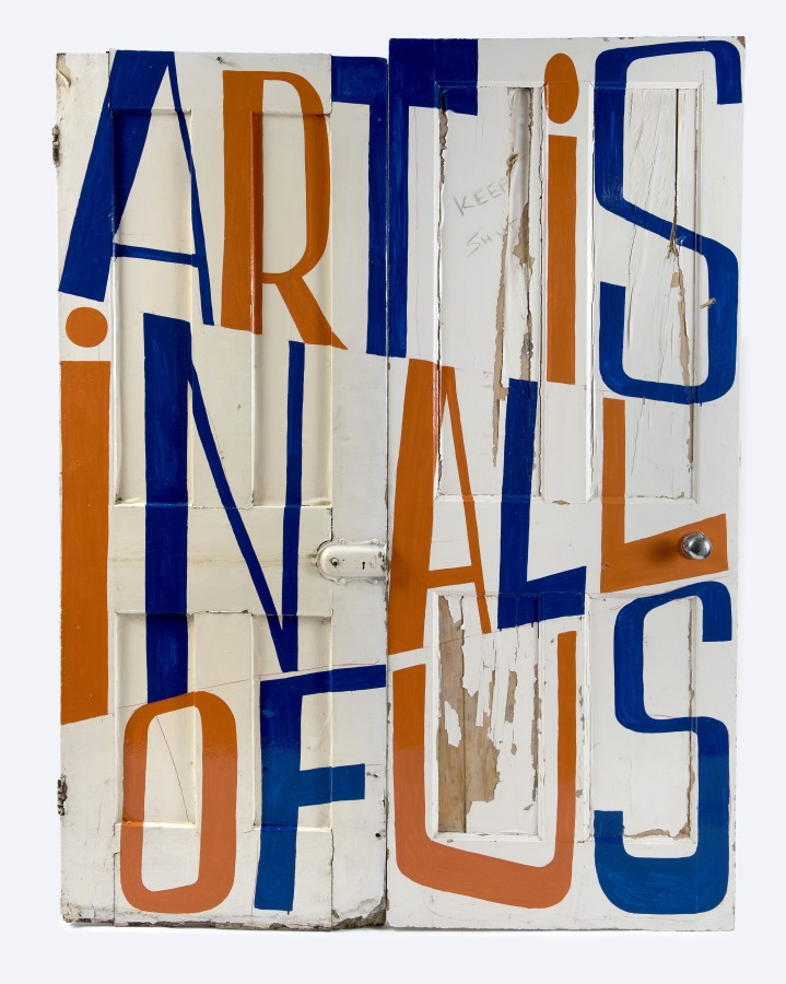 Bob & Roberta Smith, Art is in All of Us, 2019, 197x148cm