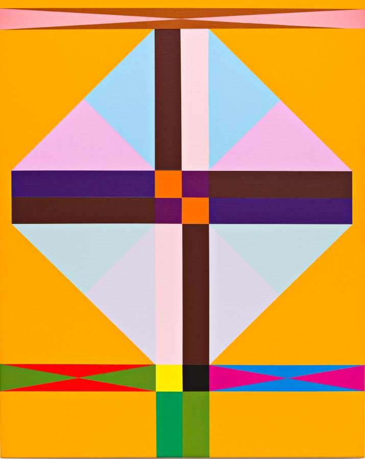 Lothat Goetz, Geometry, 2017, 70 x 55cm