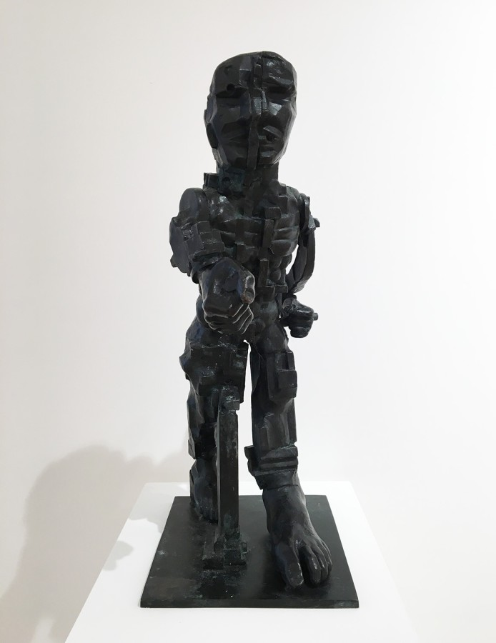 Eduardo Paolozzi - Vulcan, 1998, blonze, a/c, 60.5 x 24 x 29cm