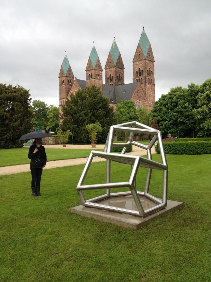 Siamese Metal 6 2012 Richard Deacon Stainless Steel 185 x 185 x 145 cm