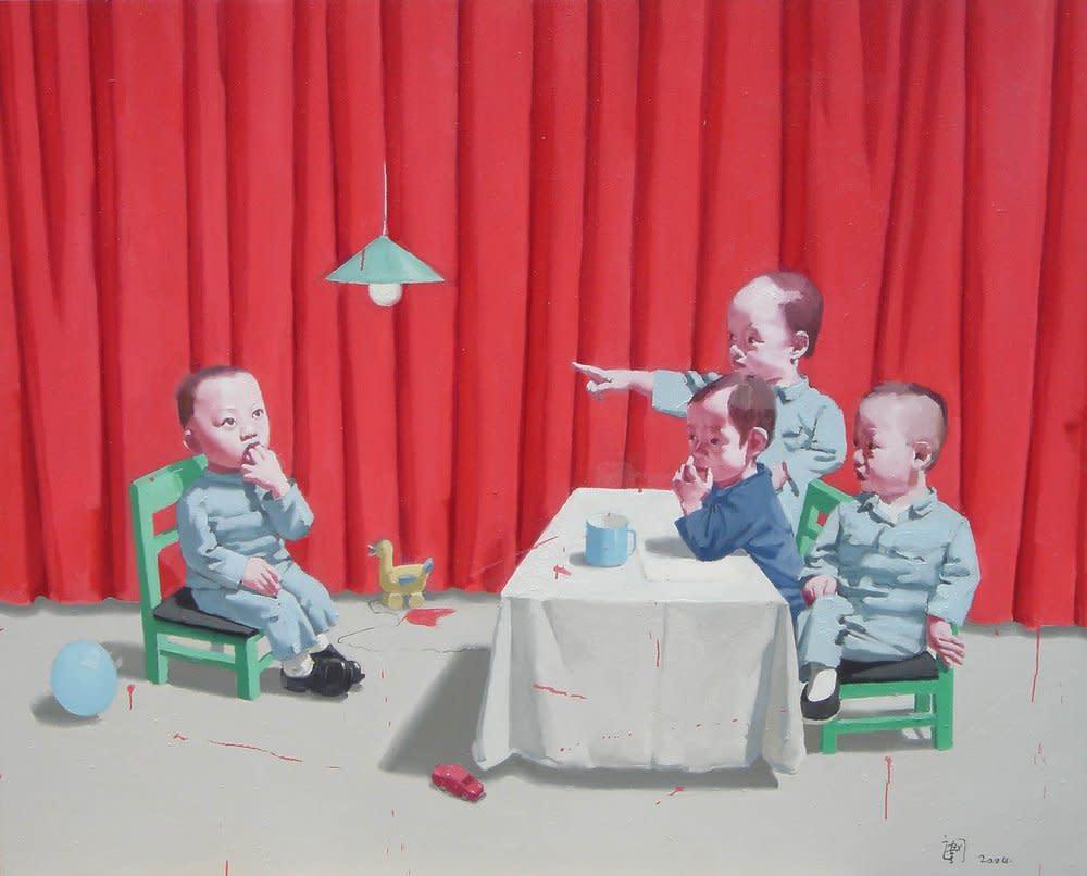 Children in Meeting 2004, 2004
