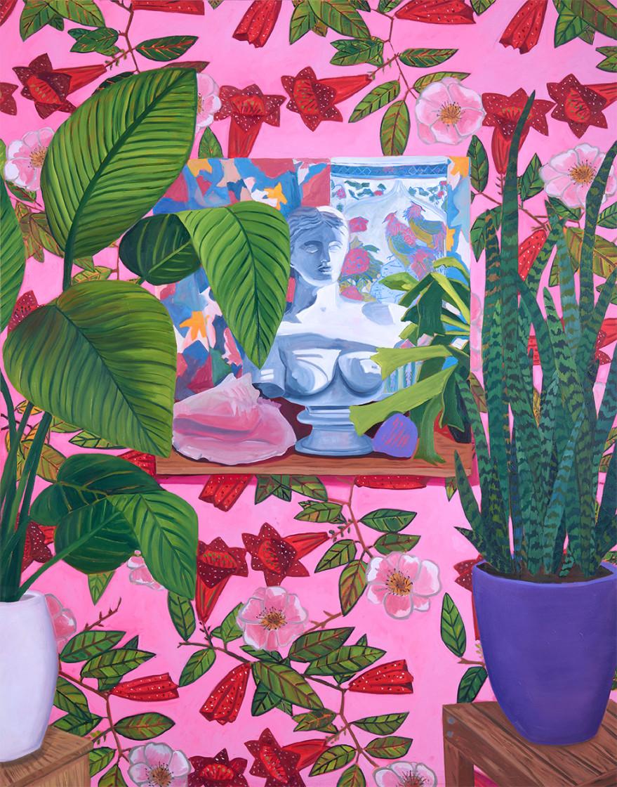 Anna Valdez, Venus Painting, 2019