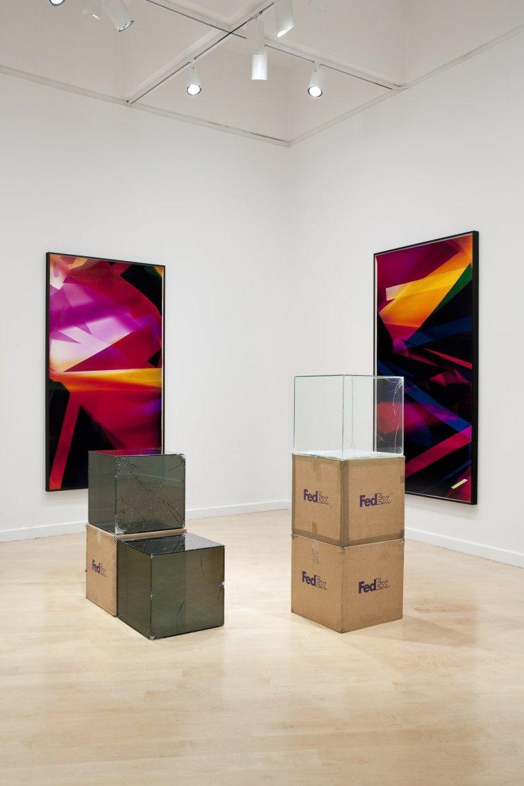 Walead Beshty: Legibility on Colour Backgrounds, 2009