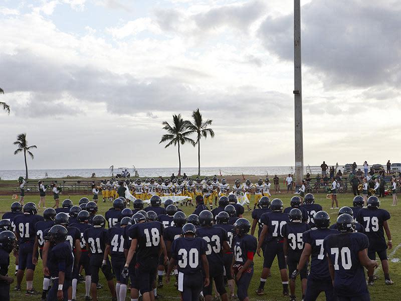 Football Landscape #17 (Waianae vs. Leilehua, Waianae, HI) (from 'High School Football'), 2009