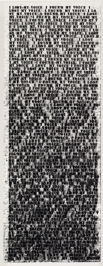 Untitled (I Lost My Voice I Found My Voice), 1991