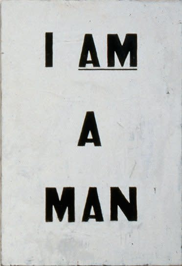 Untitled (I Am a Man), 1988