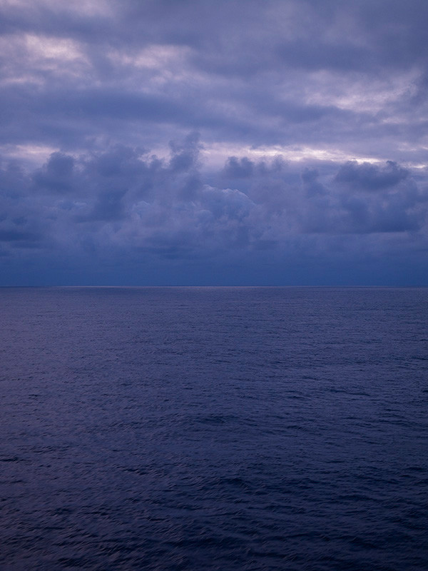Sunrise #8 (from '12 Miels to the Horizon'), 2009