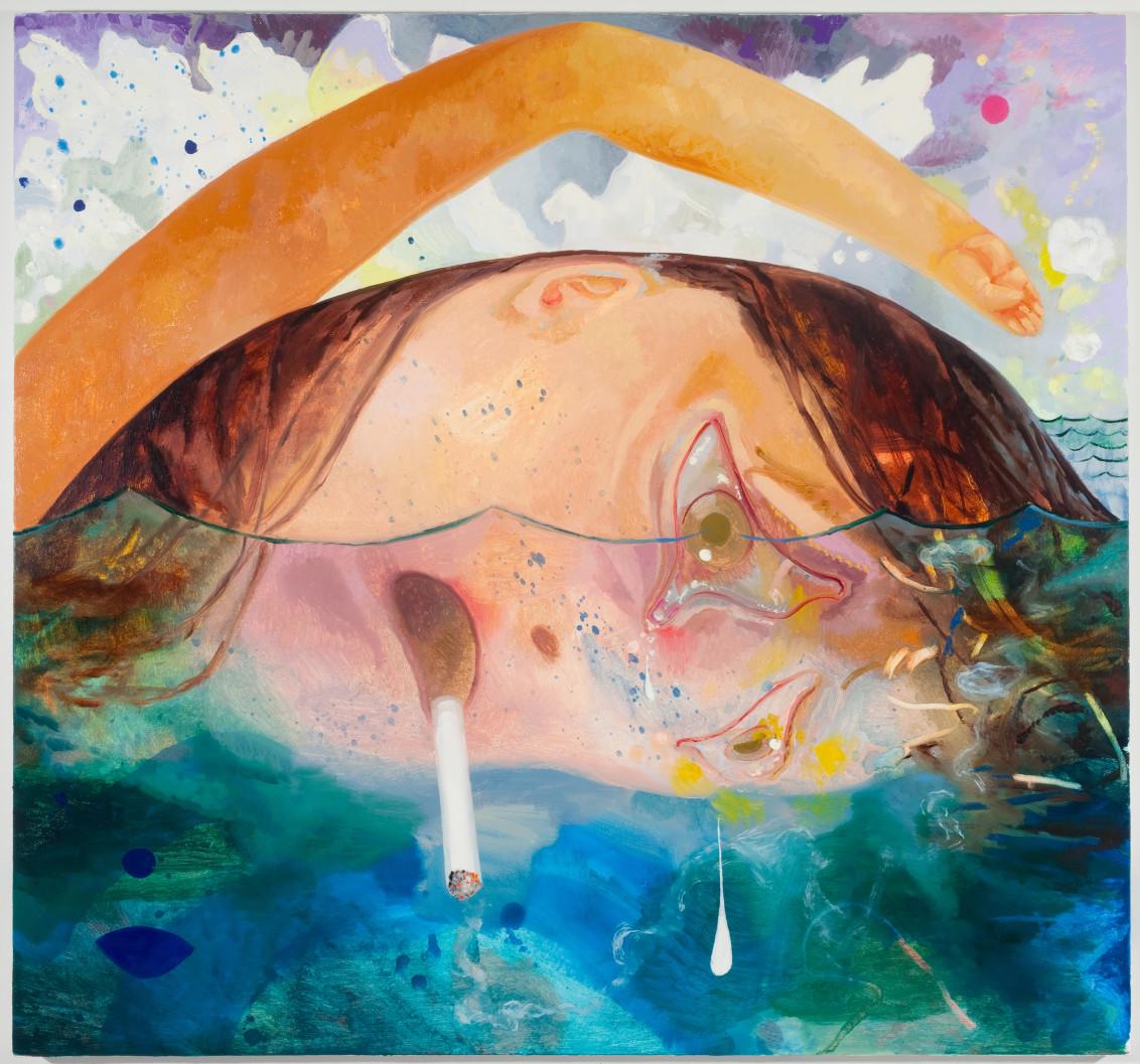 Swimming, Smoking, Crying, 2009