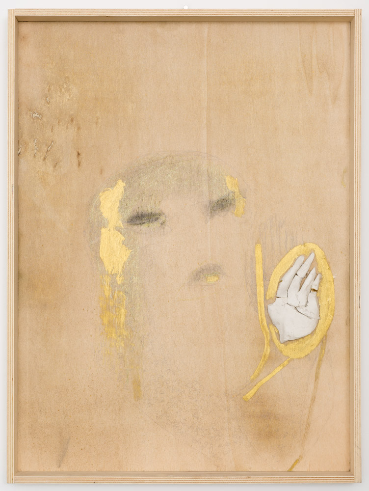 Untitled (head with hand), 2006