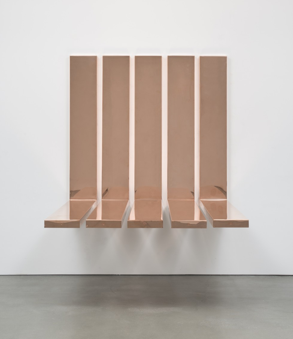 "Copper Surrogate (90˚ Bend, 60"" Bisection, 1 Section: *DATES OF INSTALL/DEINSTALL*, ), 2014"