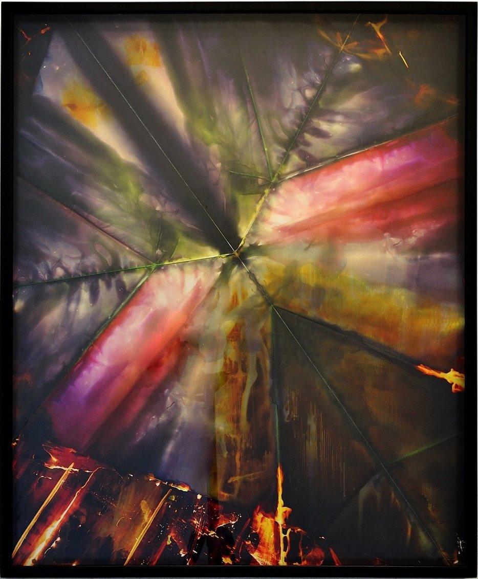 Untitled (chemical fold), 2010