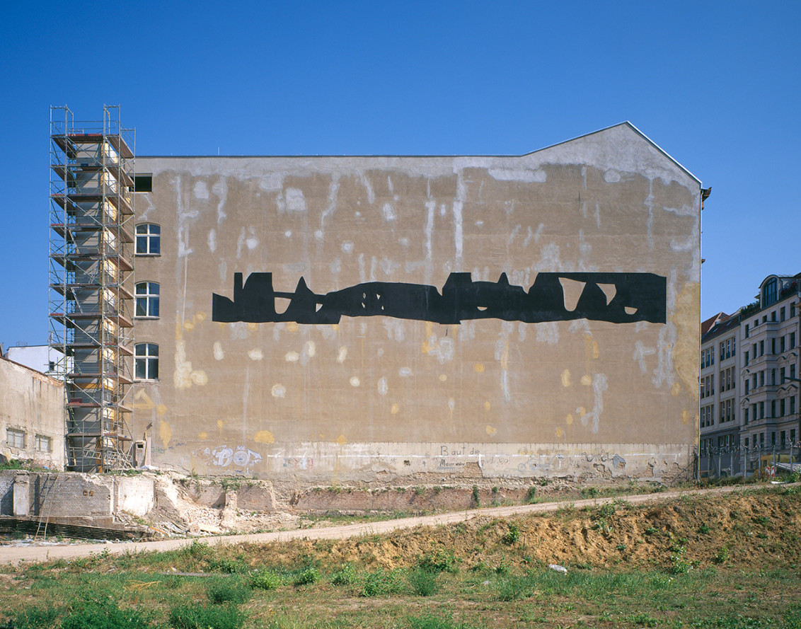 Untitled (Wall Painting for Berlin), Zimmerstrasse 90/91, Berlin, germany, 2005